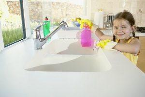 Чем чистить раковину