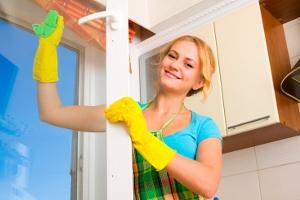 чистые окна в доме